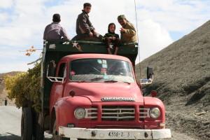 Werklui op truck
