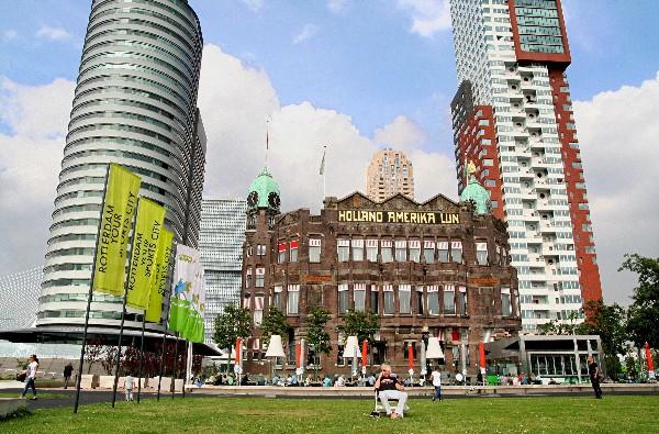 Rotterdam second best is verliefd op reizen for De lantaarn rotterdam