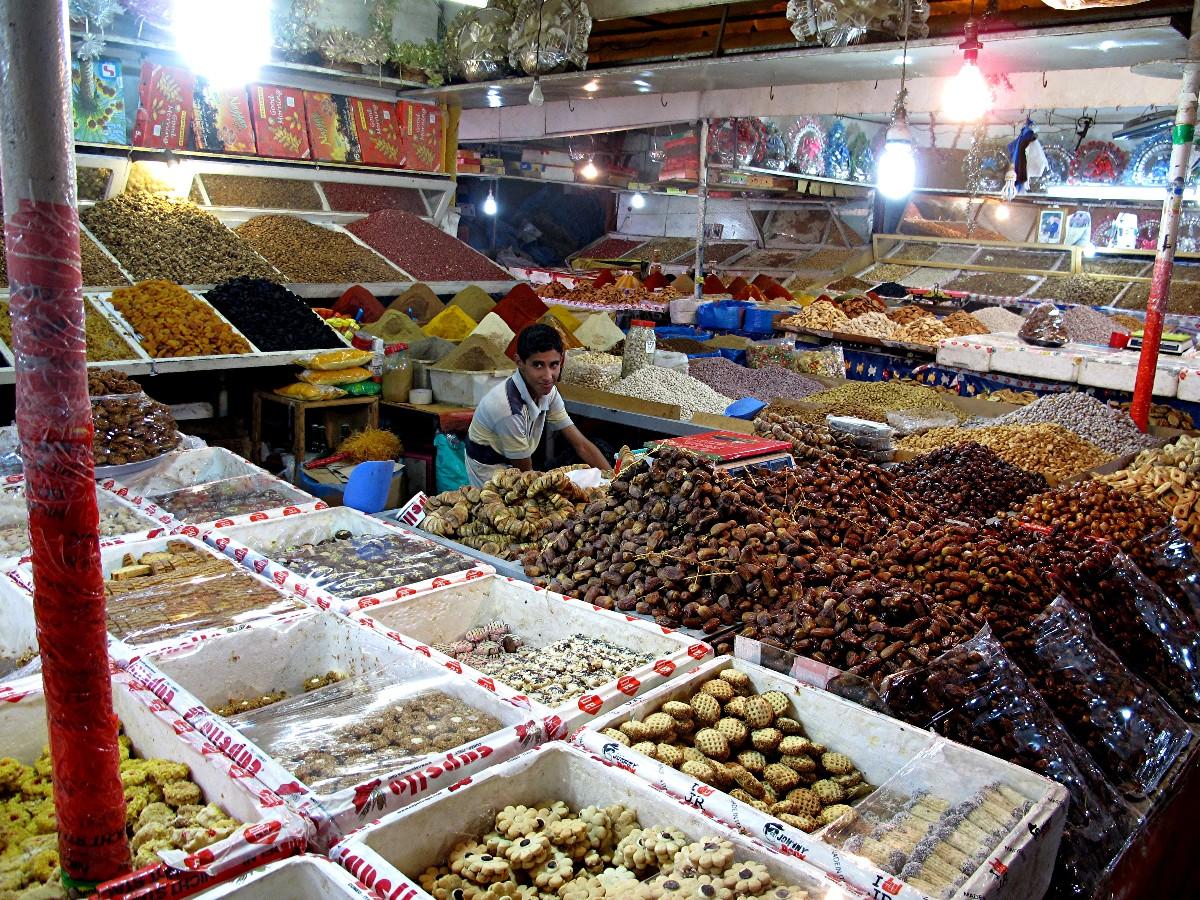 Specerijenmarkt Taroudant
