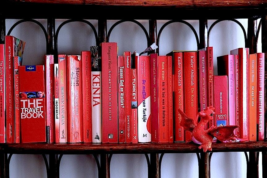 Verliefd op reisboeken