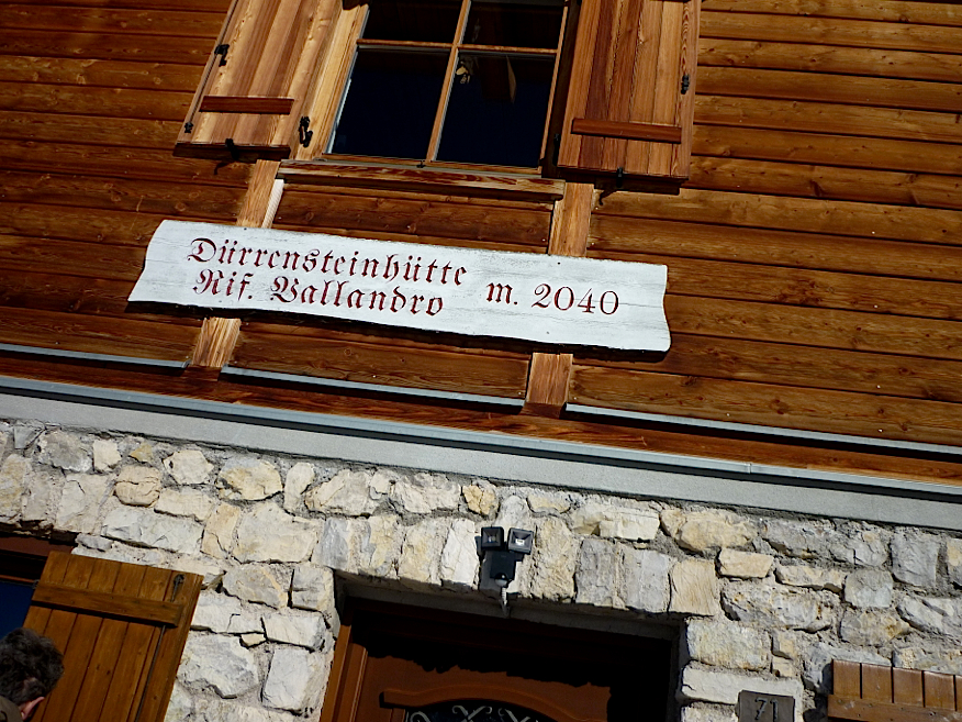 PW Durrenstein hut