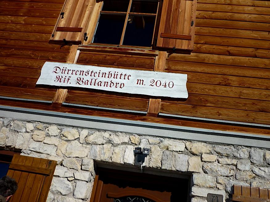 PW Durrenstein hut