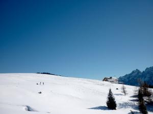 Panorama loipe naar Nemes hut