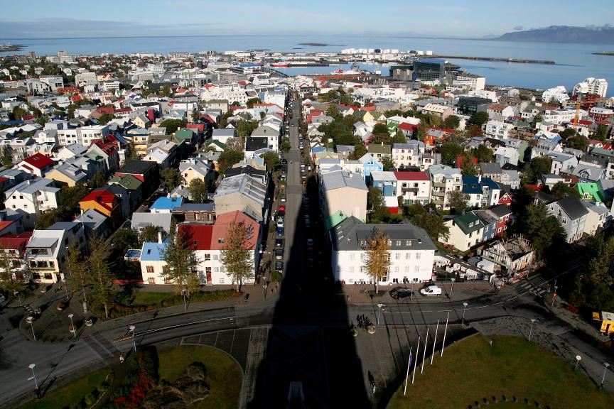Reykjavik panorama webversie